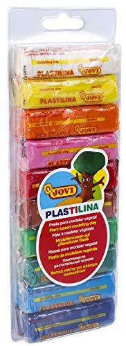 Jovi - Blíster de plastilina, 10 barras 25 g, surtidas (31)