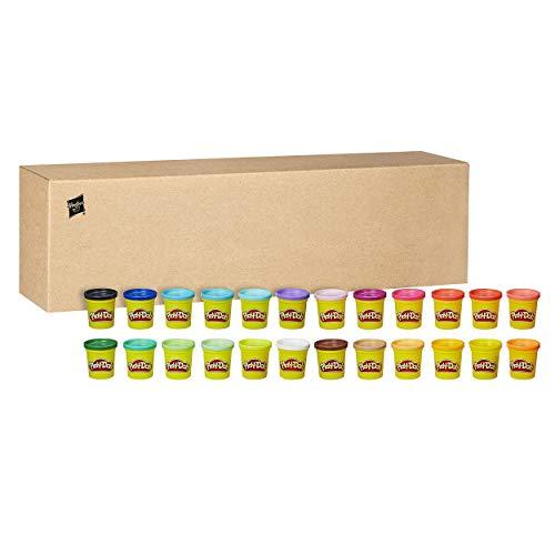 Play-Doh-Pack 24 Botes, Hasbro 20383F03