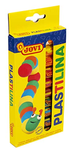 Jovi- Plastilina, 10 colors (216005)