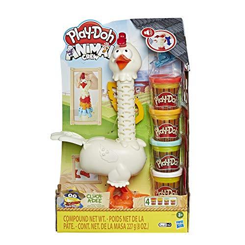 Play-Doh Gallina Plumas Divertidas (Hasbro E66475L0)