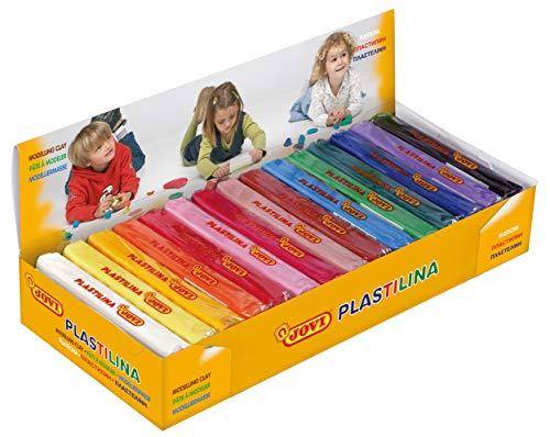 Jovi 71 - Plastilina, 15 unidades, colores surtidos, 150 gramos