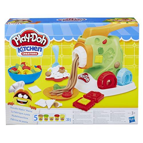 Play-Doh- Fábrica de Pasta (Hasbro B9013EU4)
