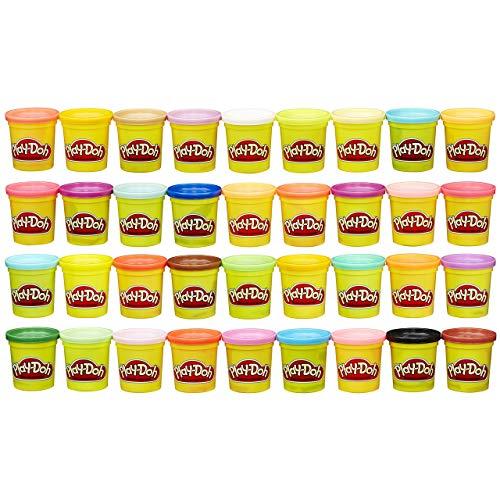 Play-Doh- Mega Pack De 36, Botes (Hasbro 36834F02)