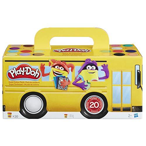 Play-Doh - Pack 20 botes (Hasbro A7924EU6)