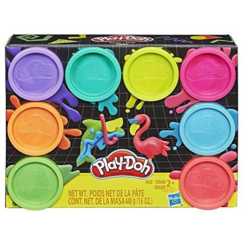 Play-Doh Pack 8 Botes Neon (Hasbro E5063ES0)