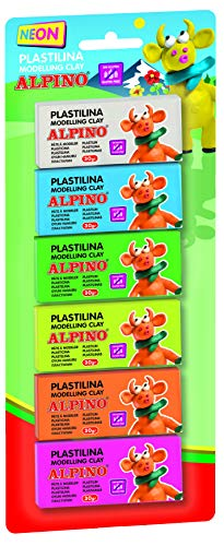 Alpino DP000936 - Blister 6 unidades de plastilina