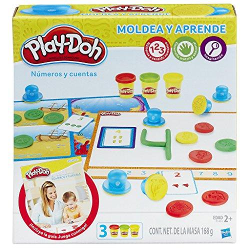 Play-Doh- Aprende a Contar Números, Multicolor, única (Hasbro B3406105)