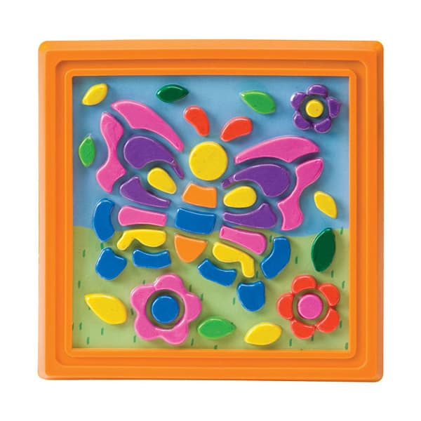 cuadro de plastilina para niños