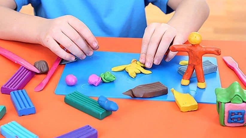 la plastilina fomenta la autonomía de los más pequeños