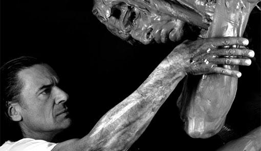 Victor Ochoa y sus esculturas en plastilina