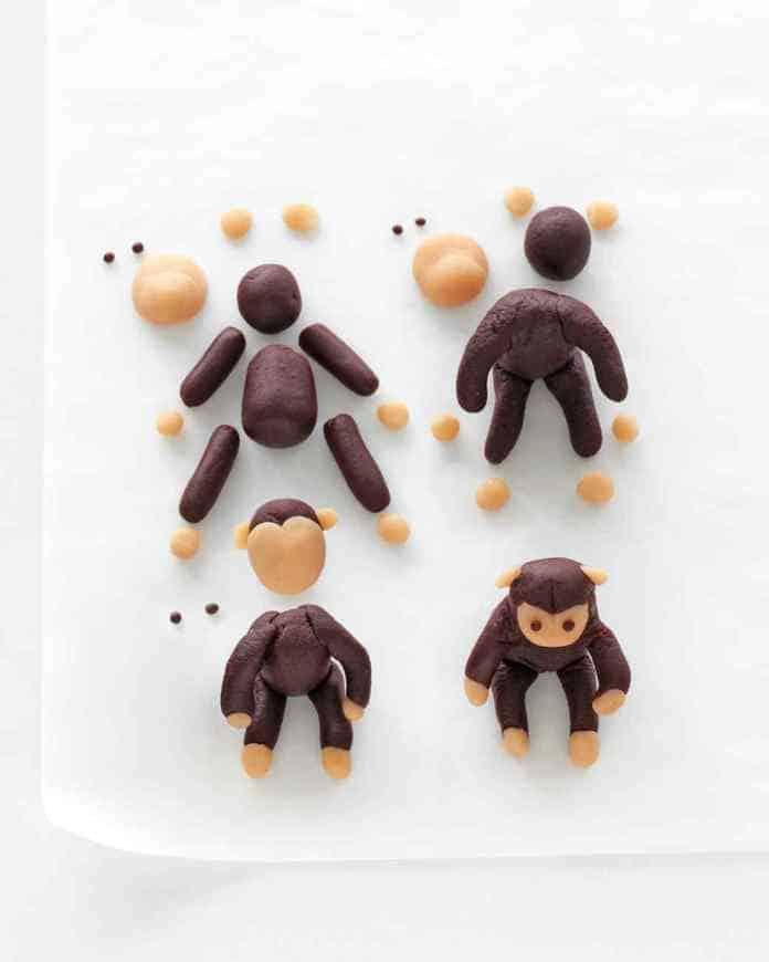 cómo hacer un mono de plastilina