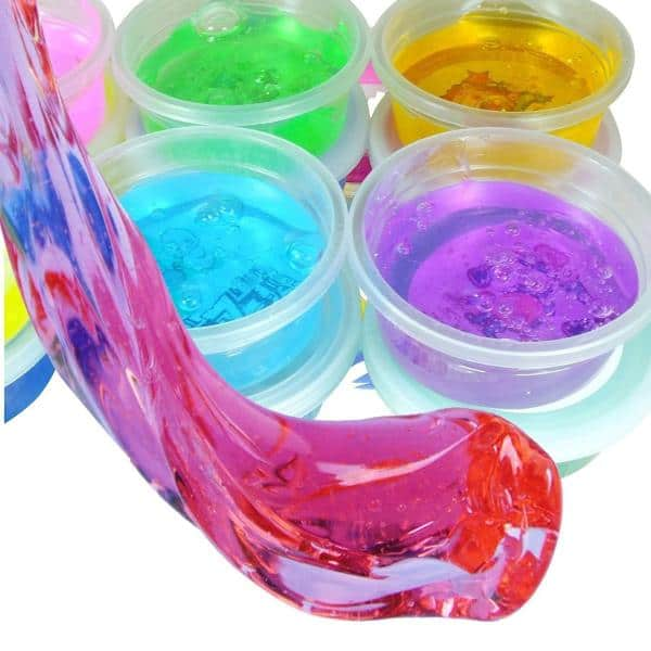 plastilina slime de colores